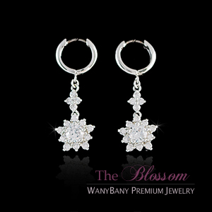 Cubic Flower Earring[The Blossom]