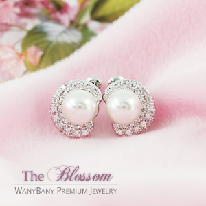 Rich Pearl Earring[The Blossom]