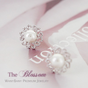 Grace Pearl Earring[The Blossom]