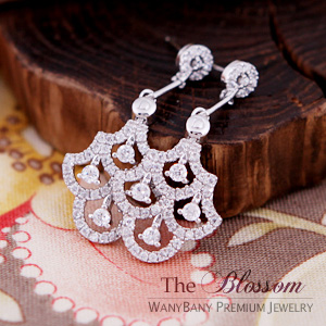 Silver Chandelier Earring[The Blossom]