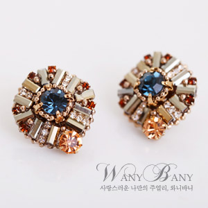 Glittering Earrings